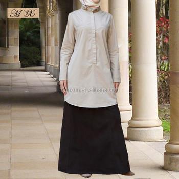 f71747971aca3 Hot Sale Muslim Abaya Islamic Clothing Tunic Top Dubai Arac New Design For  Women Wholesale Online