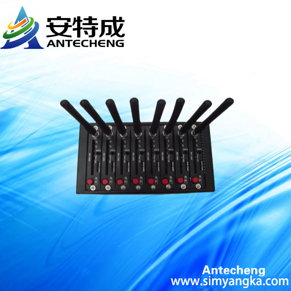 oxigen recharge mobile 8ports programmable gsm module
