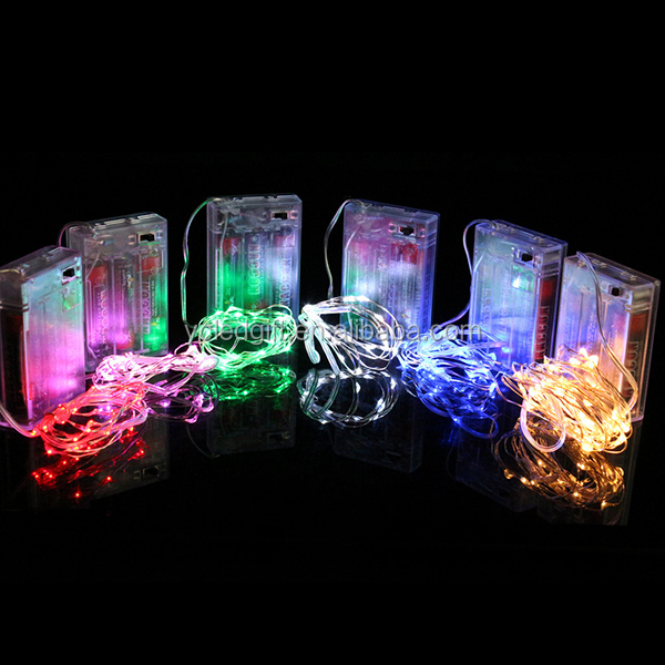 Bedroom Decor 9 Ft Led Battery Lights Warm White Dew Drop Fairy ...