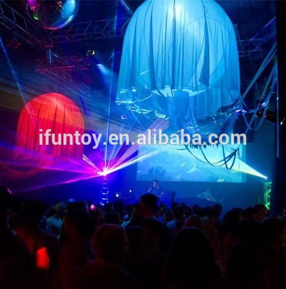 Hot sale led inflatable jellyfish balloon /inflatable jellyfish light /inflatable jellyfish for decoration