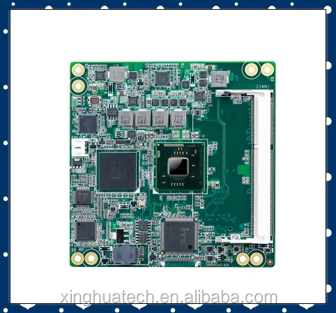 Advantech industrial intel motherboard SOM-6765N-S8A1E with Intel Atom Processor N2600/N2800/D2550 COM Express Compact Mo