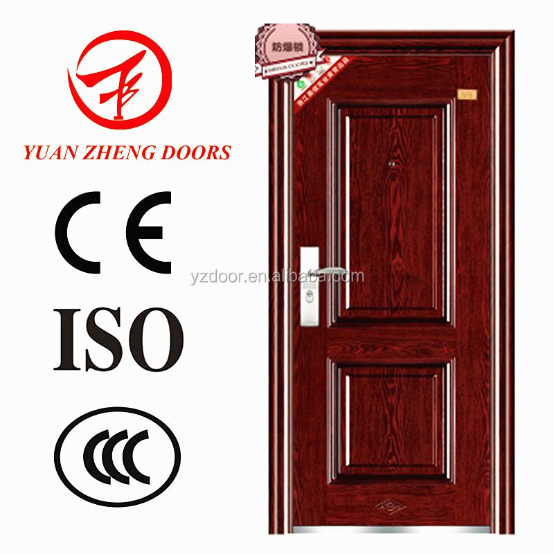 Alibaba Cheap Israel Steel DOOR Interior Modern House Building MATERIAL DOOR