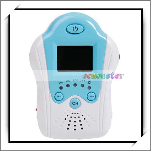 2.4GHz Small Size TFT LCD Palm Size Portable Baby Monitor