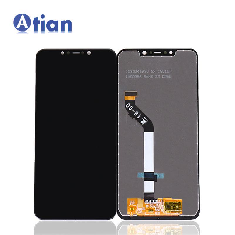 LCD untuk Xiaomi Poco F1 Layar Pengganti Pocophone F1 LCD Display Rakitan Digitizer Layar Sentuh