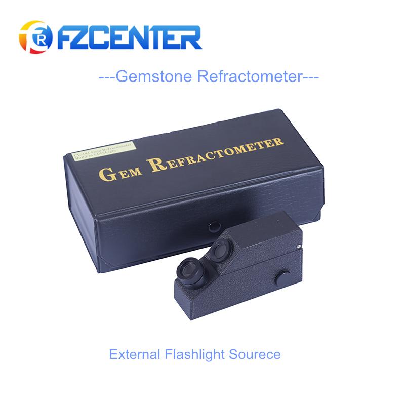 Optik ekipmanlar refraktometre taş built- led mücevher refraktometre