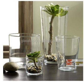 China Supplier Cylinder Vase Clear Tall Cylinder Gl Vase - Buy China on