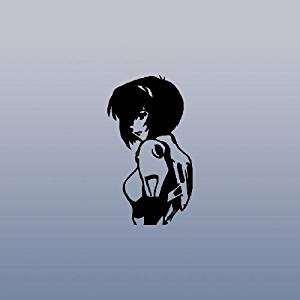 Decor Notebook Rei Ayanami Vinyl Art Decoration Black Die Cut Decal Sticker Home Decor Evangelion Adhesive Vinyl Auto Laptop