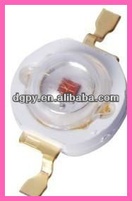 High power 1W led Emetting Red