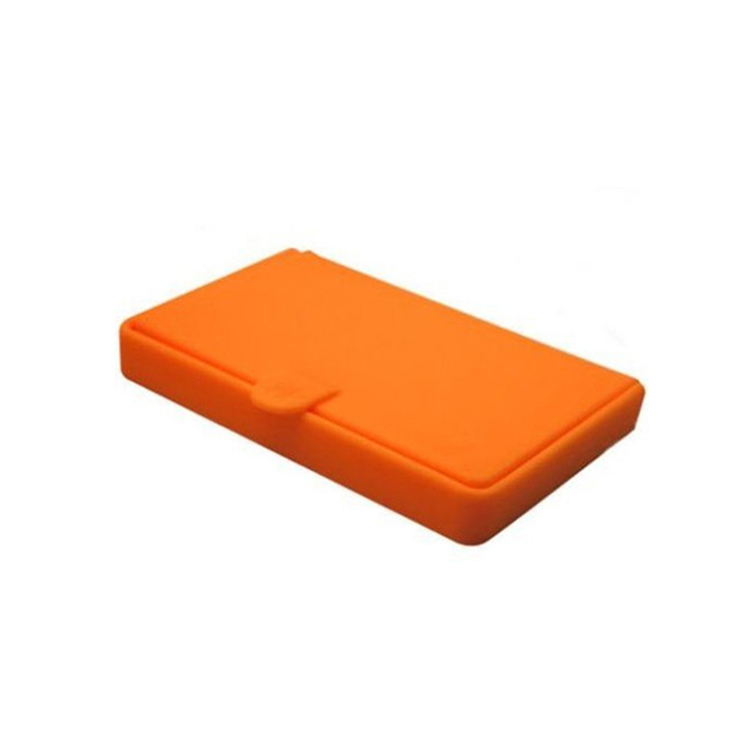 Good for promotion silicone business ID credit card wallet holder pocket card case
