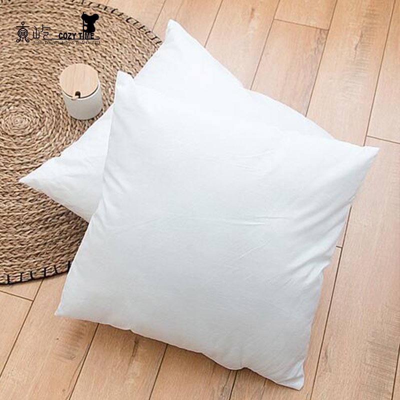 PP Cotton Cushion Inners Vacuum Package Wholesale Pillow 18x18 pillow inserts
