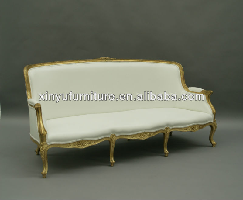 Antique French Empire Style Oak Settee Sofa/bench Sofa Couch Xy0727   Buy Sofa  Couch,Oak Settee,French Sofa Couch Product On Alibaba.com