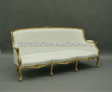 Antique French Empire Style oak Settee sofa/Bench sofa couch XY0727