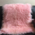 Sheep Leather Fur Product Animal Fur Scarf for Lady