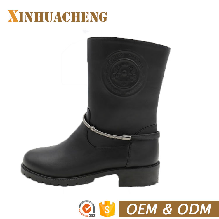 good quality ABS heels non-slip outsole flats boots