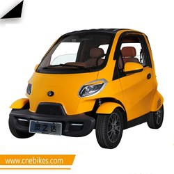 Hot selling new energy adult two seater mini electric car on sale with 4kw motor