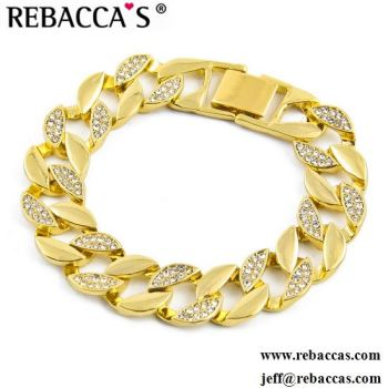 impressive big gold order custom cartier pin bracelet