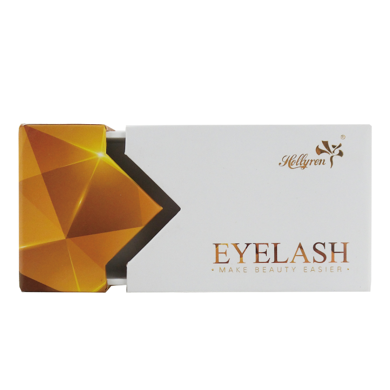 Dramatic Makeup Lashes Cardboard box Custom Eye Lashes Case