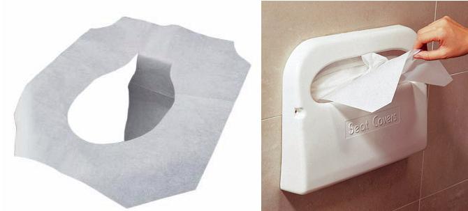 Disposable Toilet Seat Cover Commercial Paper Original