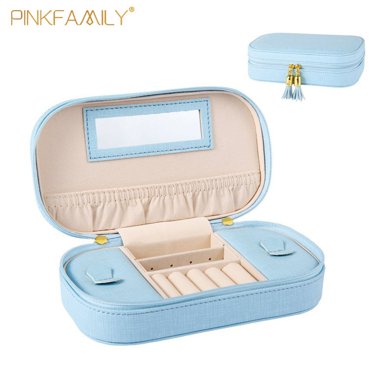 Girls Earring Case Jewelry Packing Box Storage Case for Women
