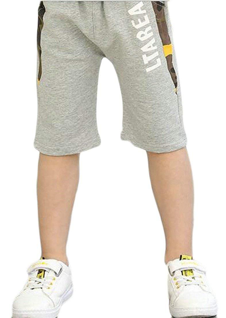 Joe Wenko Girls Sport Cute Dots Elastic Waist Loose Cotton Short