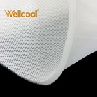 Manufacture white washable 7mm thickness 3d knitted spacer mesh fabric for mattress