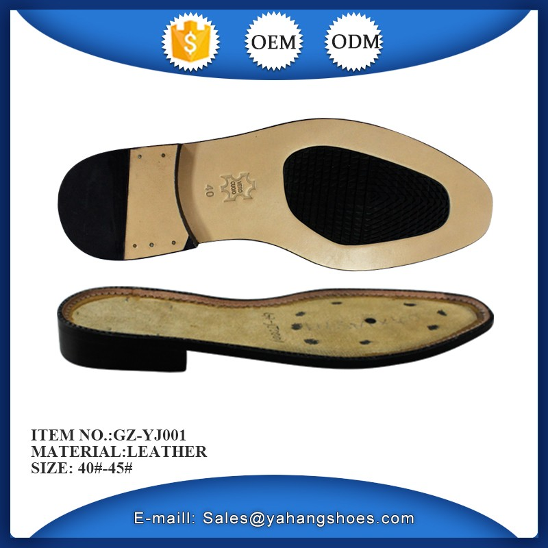 Cowhide leather sole composite sole Men's leather shoes sole man leather shoes outsole for men