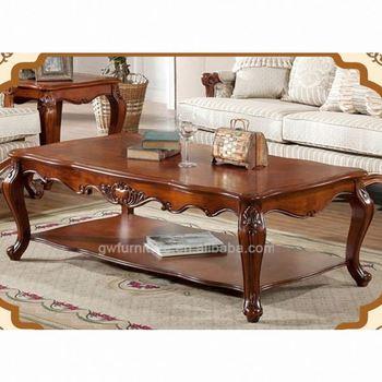 Wooden Tea Table Design