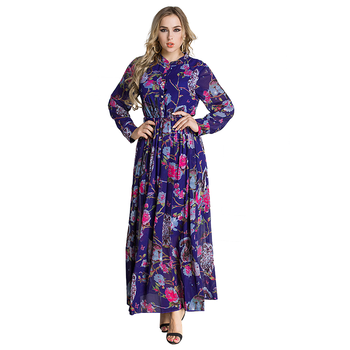 Zakiyyah 3033 Women Clothing Sexy Dresses Women Lady Abaya In Jordan Flower Designs