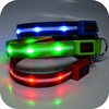 Colorful Pet Security Products Illuminated Dog Collars for Sale