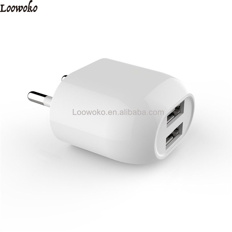 Multiple Usb 2 Ports Port High Quality Wall Charger