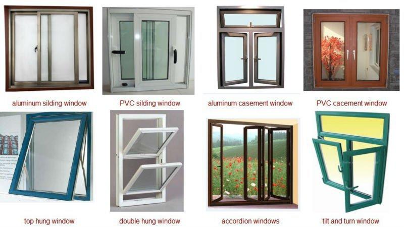 Stylish Modern Aluminium Casement Windows With Shutter