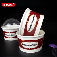Pictures can be put on ice cream cup
