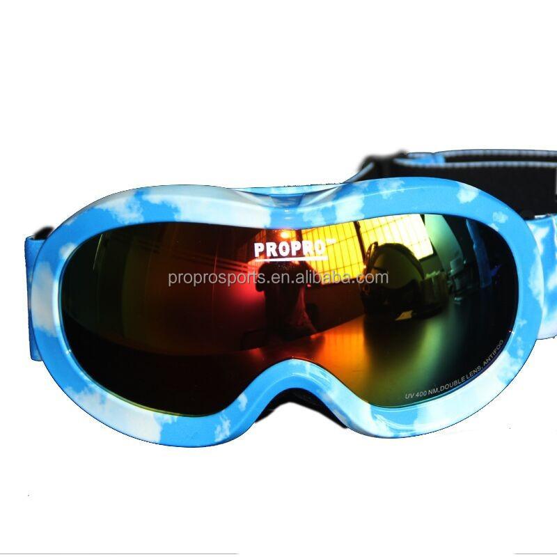 2d0d9e78d734 Boys and Girls Eyewear Snow Sports Goggles Anti-fog UV Protective dual lens  anti fog snow goggles for kids