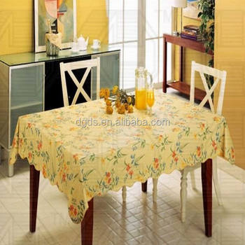 China Supplier Roll Vinyl Table Cloth Recycle Plastic Sheet Table