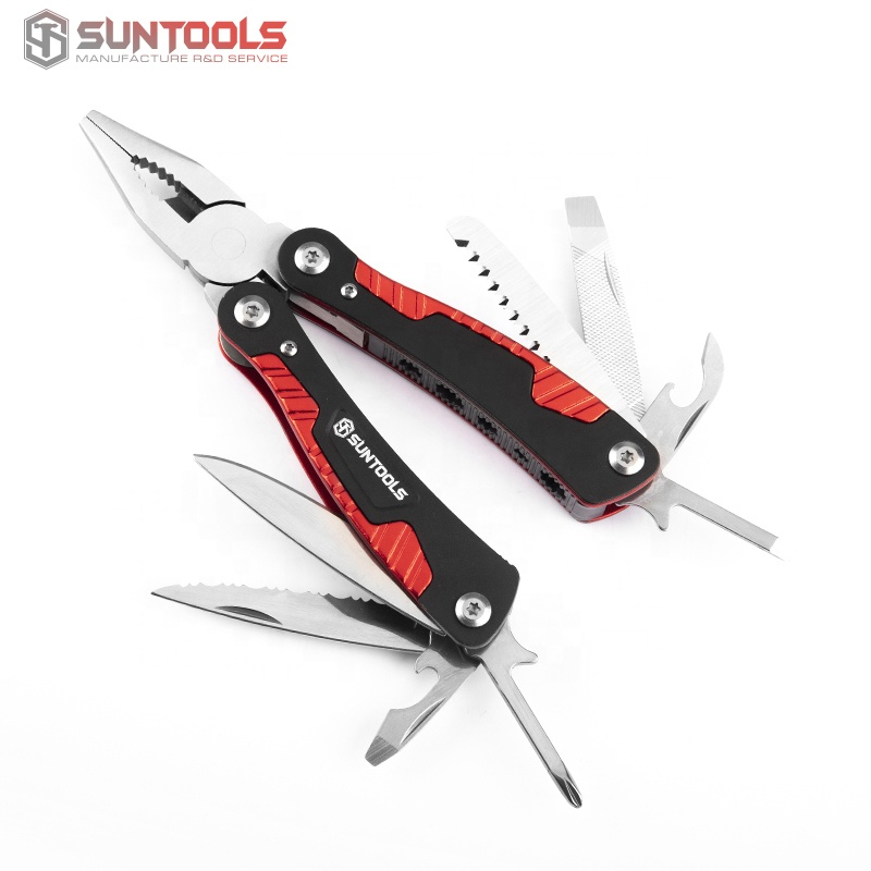 Hot sale customized multi function plier with aluminum handle