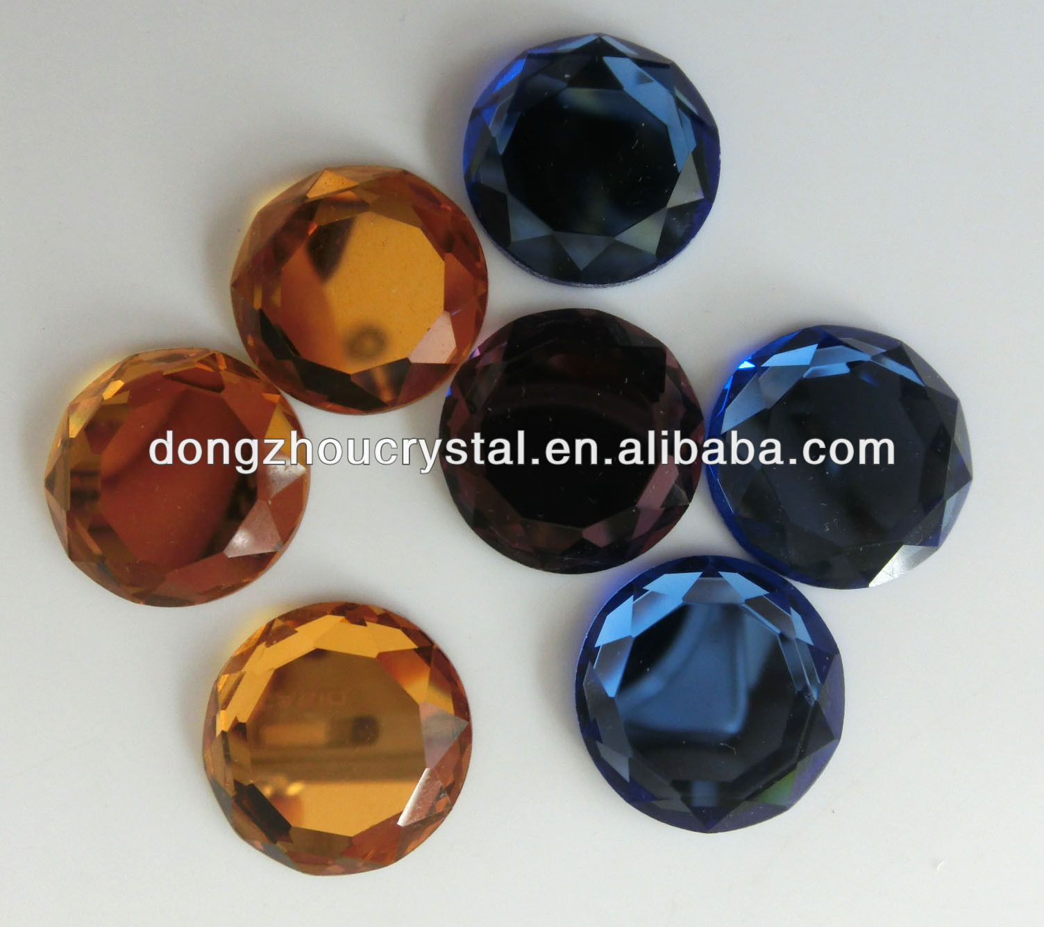 loose gemestone crystal glass neads