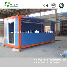 cheap prefab container coffee shop for sale