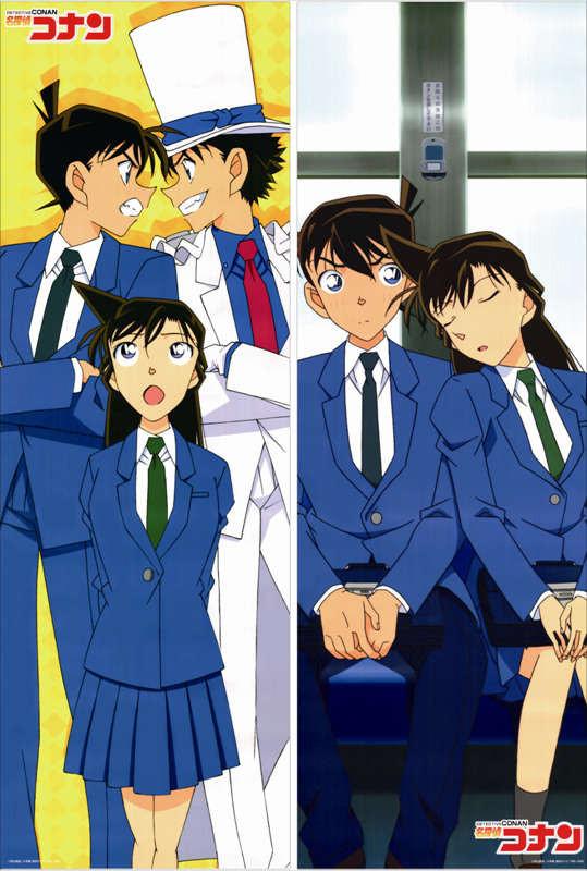 Detective Conan Anime Characters Cool Boy Kaitou Kid Throw