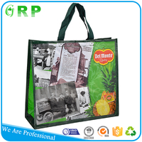 Eco-friendly OEM produce reusable standard size extra large shopping bag