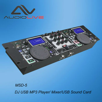 Most Popular CE certificate standard dual SD USB input MP3 player