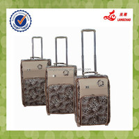 2015 fashion S015 pu leather women gender carry-on luggage