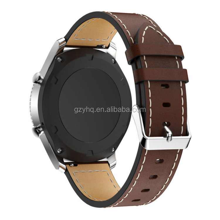 For Samsung Gear S3 Classic Frontier Wrist Watch Straps genuine Leather Straps For Watches