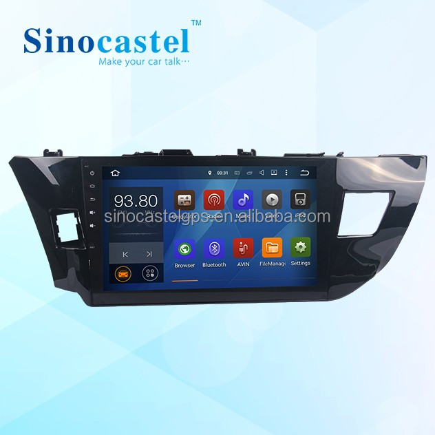 2 Din Car DVD With <strong>Android</strong> GPS Canbus Audio Radio Play Support DAB+ Digital <strong>TV</strong> DVB-T2 TPMS Fit For Toyota Levin 2014