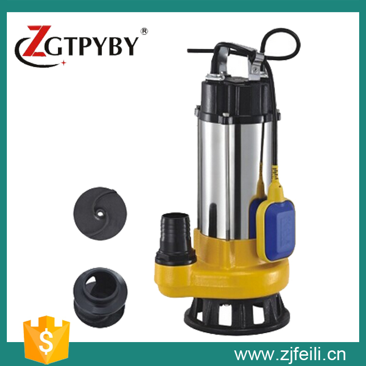 Submersible water lifting pump 0.5hp water pump specifications