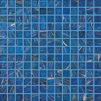 Hot Melting Gl Mosaico For Swimming Pool Blue Color Mosaic Tile
