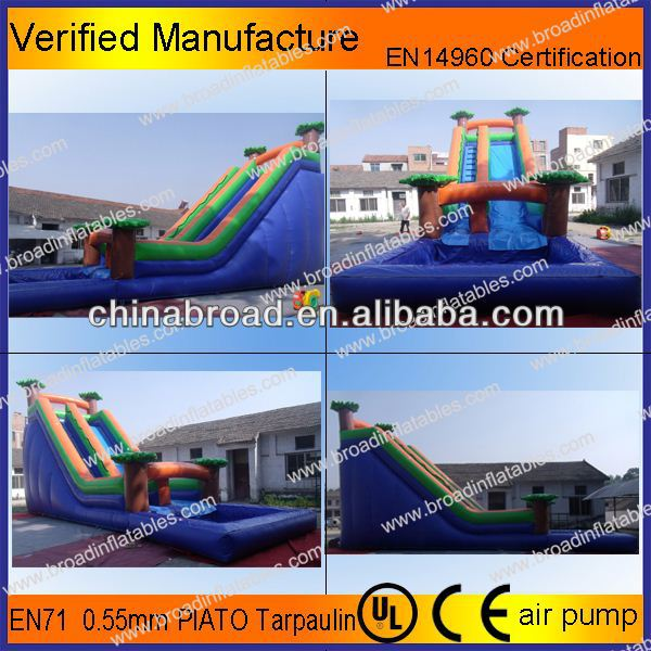 Durable water slide,dalang water slide for adult and kids