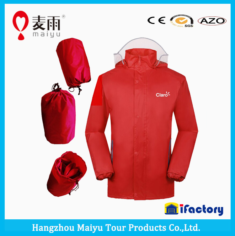 Maiyu Breathable Foldable Rain Jacket For Men - Buy Rain Jacket ...
