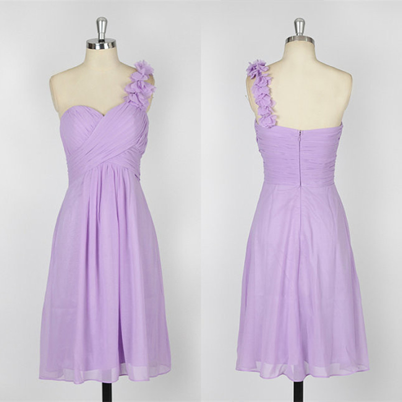 New Arrival 2014 Pleat Lilac Flowers Sweetheart One ...
