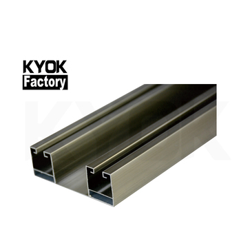 Kyok Wifi Double Track Curtain Rail For Home Curtain Track Gliders Plastic Aluminum Flexible Bendable Curtain Rail Track Buy Double Track Curtain