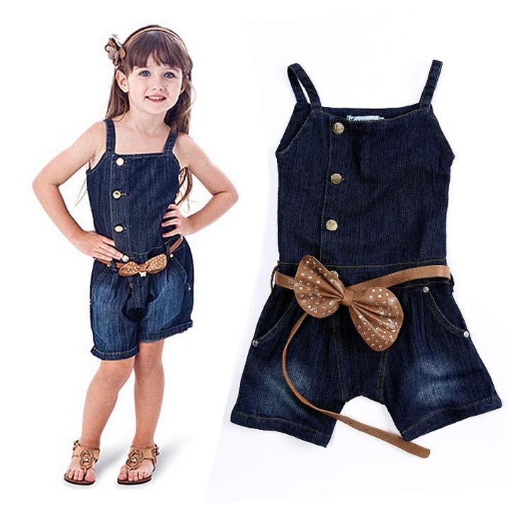 مدل لباس جین بچه گانه